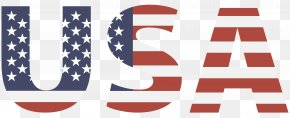 Vector Graphics American Flag USA - Flag Of The United States Clip Art PNG