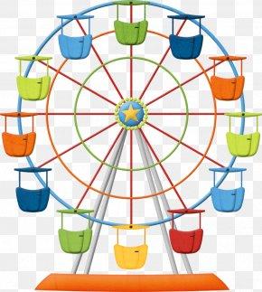 Giant Wheel - Ferris Wheel Clip Art PNG