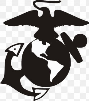 Marine - United States Marine Corps Eagle, Globe, And Anchor Military Marines PNG