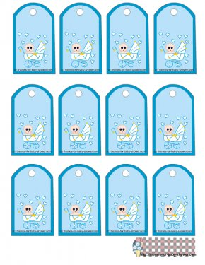 Free Baby Shower Borders - Baby Shower Gift Infant Clip Art PNG