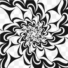 Taobao,Lynx,design,Korean Pattern,Shading,Pattern,Simple,Geometry Background - Black And White Floral Design Motif PNG