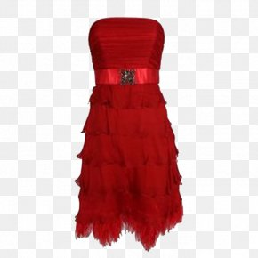 Dress - Dress Red Clothing PNG