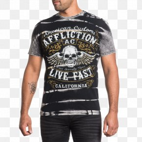 T-shirt - T-shirt Sleeve Affliction Clothing PNG