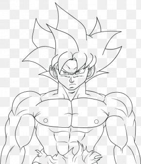 Goku Line Art Drawing Super Saiyan Vegerot Png 900x1393px