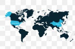 World Map - World Map Globe Atlas PNG