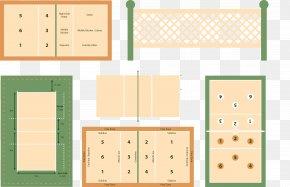 Vector Standard Badminton Courts - Badminton Net PNG