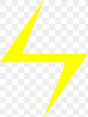 Yellow Lightning Bolt Clipart - Bolt PNG