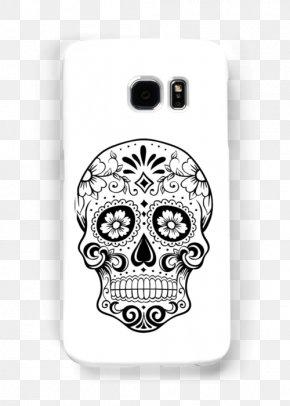 Skull - Calavera Day Of The Dead Human Skull Symbolism Clip Art PNG