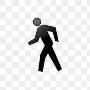 Human Walking Cliparts - Walking Person Clip Art PNG