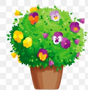 Flower Pot Revit - Clip Art Floral Design Image Information PNG