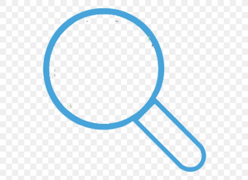 Magnifying Glass Icon, PNG, 613x594px, Magnifying Glass, Area, Blue, Computer Network, Point Download Free