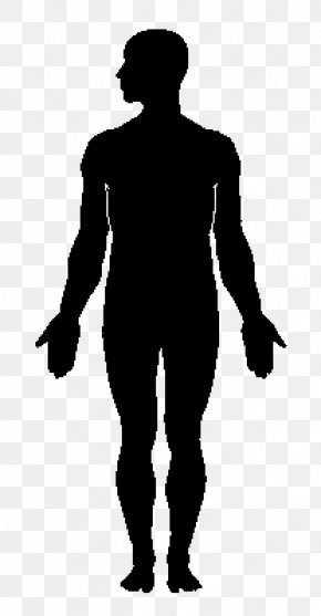 Silhouette - Human Body Silhouette Clip Art PNG