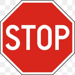 Stop Sign - Stop Sign Traffic Sign Clip Art PNG