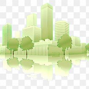 Skyscraper Real Estate - Green City Human Settlement Urban Design Skyline PNG
