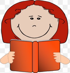 Reading Red Cliparts - Reading Pictures Clip Art PNG