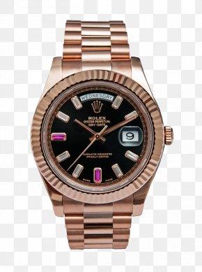 Rose Gold Rolex - Watch Rolex Datejust Rolex Daytona Rolex Day-Date PNG