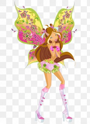 Flora - Flora Bloom Winx Club: Believix In You Tecna PNG