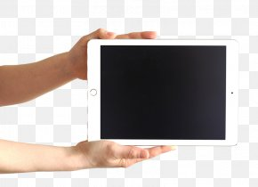 Holding Tablet - Microsoft Tablet PC Tablet Computer PNG