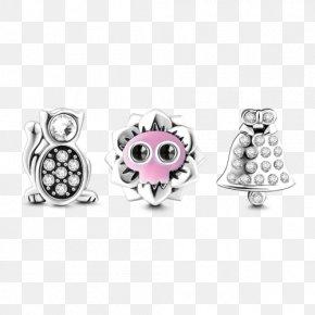 Jewellery - Earring Charm Bracelet Jewellery Pandora Silver PNG