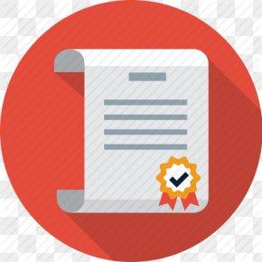 Diploma Free Icon - Patent Diploma Illustration PNG