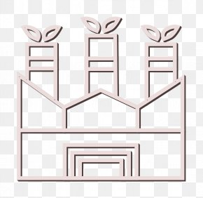 Rectangle Leaf Icon - Building Icon Ecology Icon Environment Icon PNG