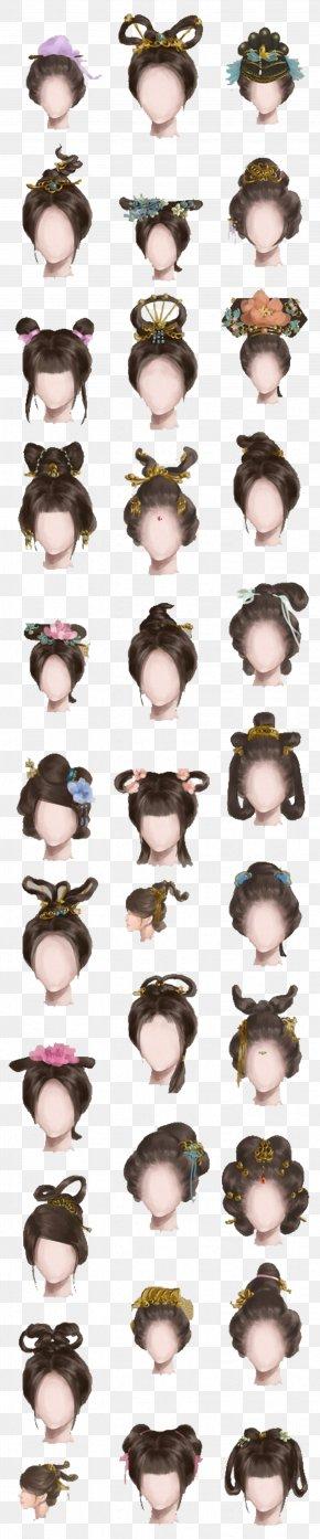 Chinese Ancient Woman Hairdo - History Of China Download PNG