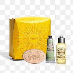 Hand Gift - L'Occitane En Provence Shea Butter Perfume Shower Gel Soap PNG