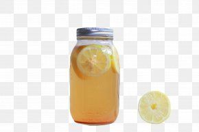 Lemonade - Orange Drink Lemonade Mason Jar PNG