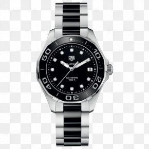 Watch - TAG Heuer Aquaracer Watch Swiss Made Jewellery PNG