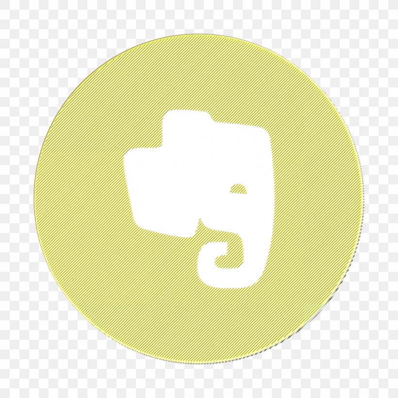 Evernote Icon, PNG, 1152x1152px, Evernote Icon, Animation, Logo, Yellow Download Free