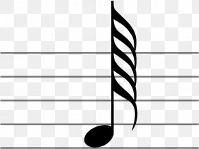 Musical Note - Hundred Twenty-eighth Note Musical Note Two Hundred Fifty-sixth Note Sixty-fourth Note Quarter Note PNG
