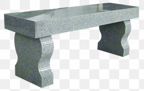Bench - Bench-Stone Memorial Bench Headstone PNG