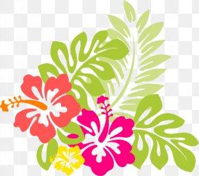 Hawaiian Cartoon Cliparts - Hawaiian Hibiscus Hawaiian Hibiscus Clip Art PNG