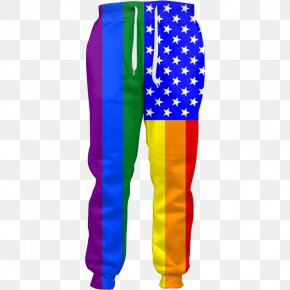 American Flag - Tracksuit Sweatpants Flag Of The United States PNG