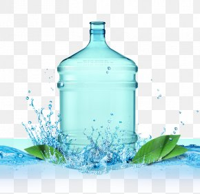 Blank Bottled Drinking Water - Drinking Water Bottled Water Mineral Water PNG