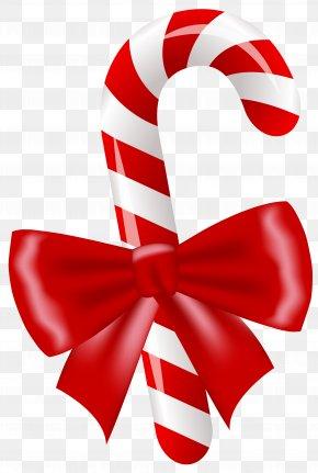 Christmas Candy Cane Clipart Image - Candy Cane Lollipop Clip Art PNG