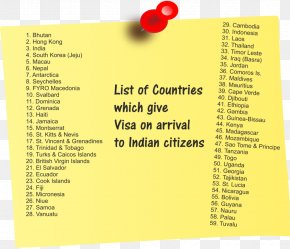 India - India Travel Visa Thailand Country Mauritius PNG