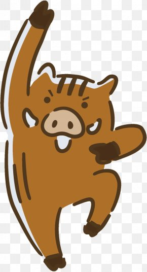 Brown Bear Cartoon - Cartoon Clip Art Brown Bear PNG
