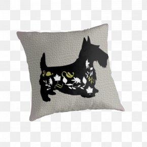 Lucky Dog - Dog Breed Throw Pillows Cushion PNG