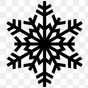 Snowflake Image - Snowflake Silhouette Clip Art PNG