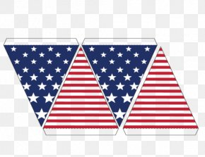 United States - Flag Of The United States Bunting Independence Day PNG