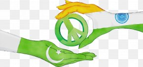 Green Flag Of Pakistan - India Flag Watercolor PNG