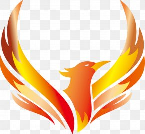 Phoenix Logo Vector Design - Logo Phoenix Illustration PNG