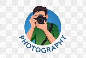 Vector Camera Man - Photography Logo Photographer PNG