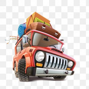 Travel,Traveling By Car - Car Travel Road Trip Illustration PNG