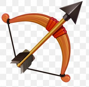 Toy Bow And Arrow - Bow And Arrow Crossbow PNG