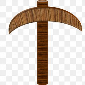 Pickaxe Picture - Minecraft Pickaxe Wood Clip Art PNG