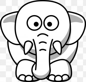 Elephant Images - Animal Lion White Black Clip Art PNG