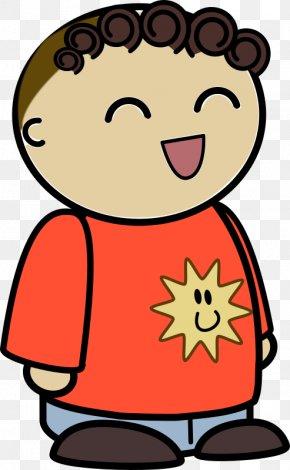 Big Laugh - Clip Art Cartoon Image Vector Graphics PNG