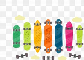 Vector Skateboard - Skateboard Download Euclidean Vector PNG